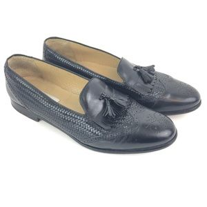 Mezlan Barbados Leather wing tip Tassel Mens Sz 12